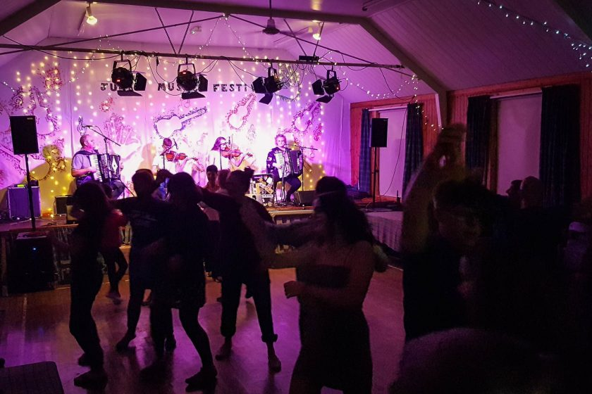Island ceilidh at the Jura Music Festival