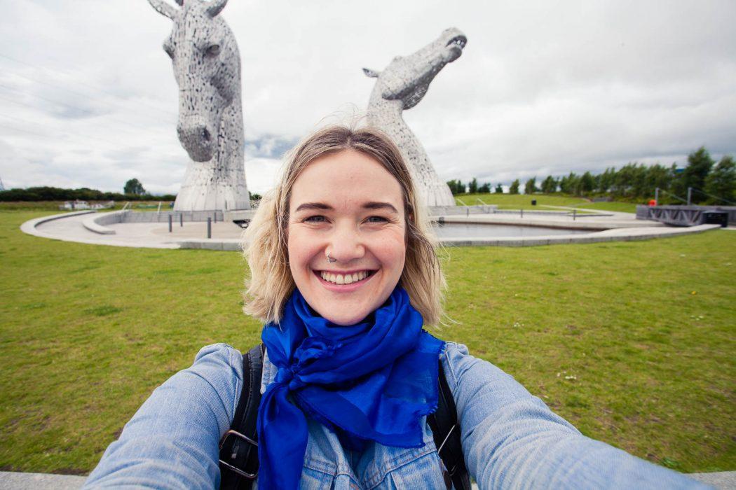 The Kelpies are a hidden gem nestled between Glasgow and Edinburgh. Thanks to Rabbie's Kelpies tour I finally got to tick them off my Scotland bucket list!