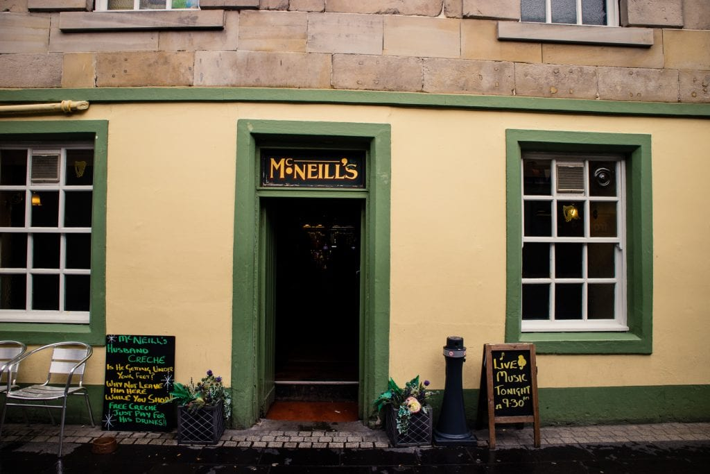 McNeill's pub in Stornoway on the Isle of Lewis