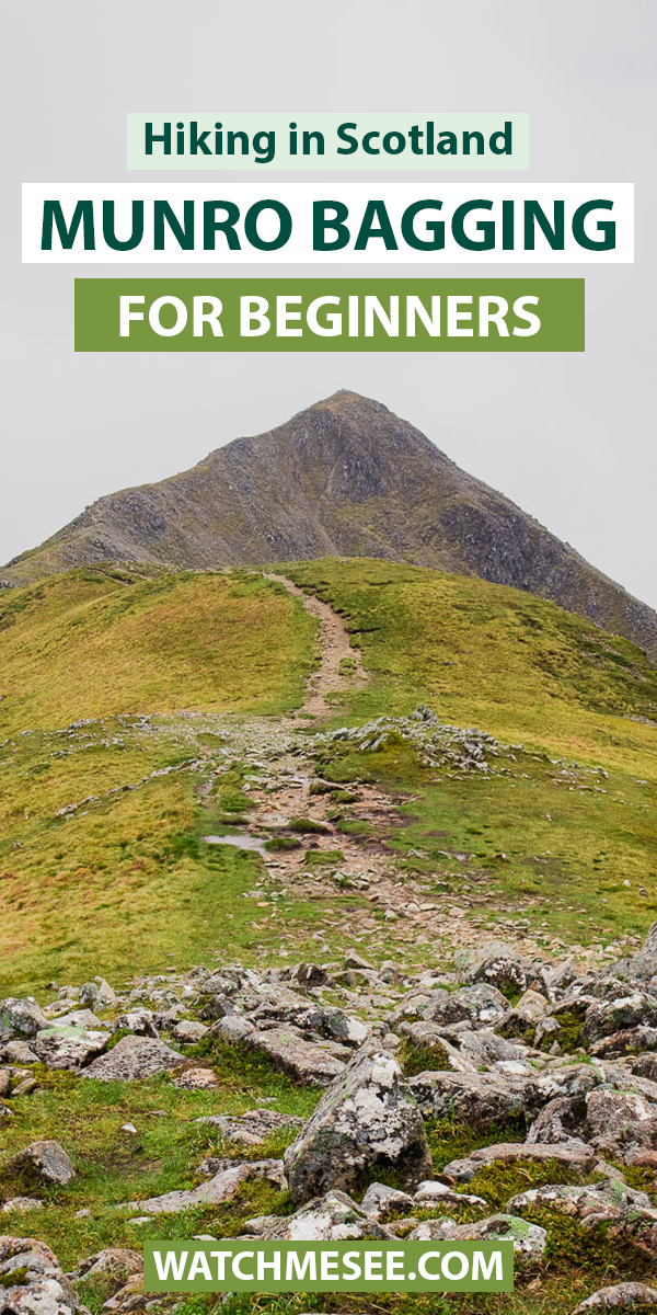 New to hiking Scotland's tallest mountains? Find everything you need in this guide about Munro bagging for beginners - packed with tips!
