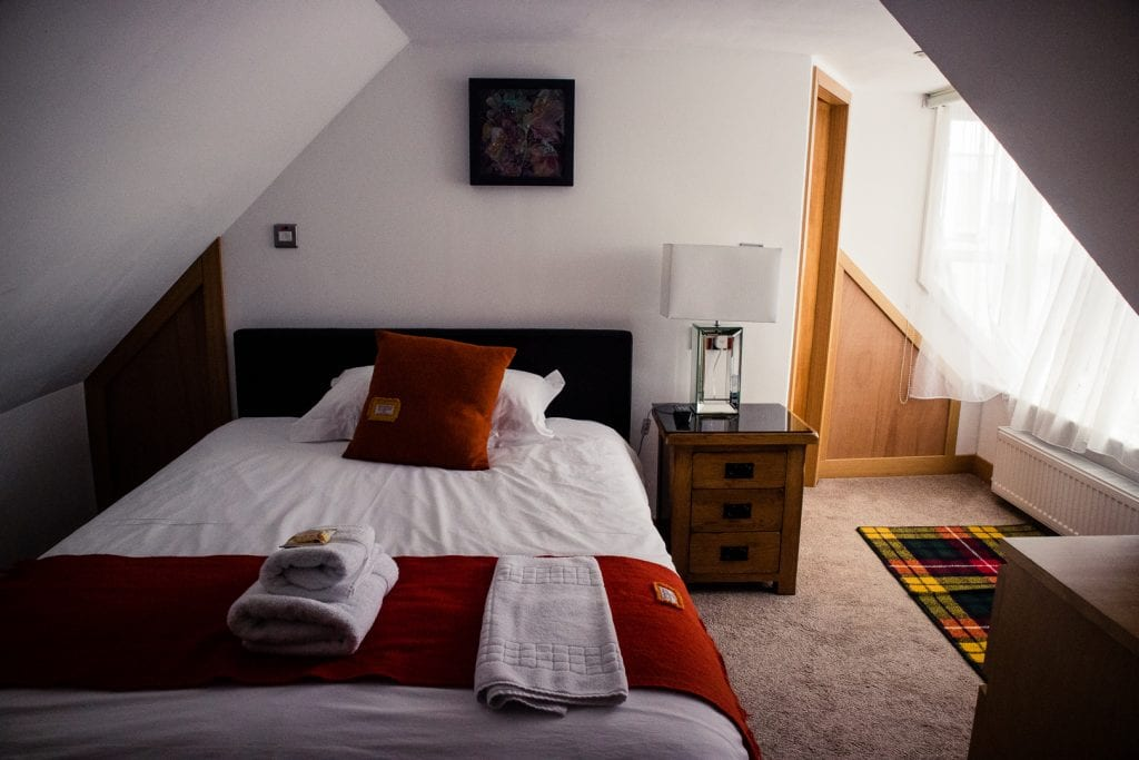 My room at Stornoway Bed and Breakfast on the Isle of Lewis