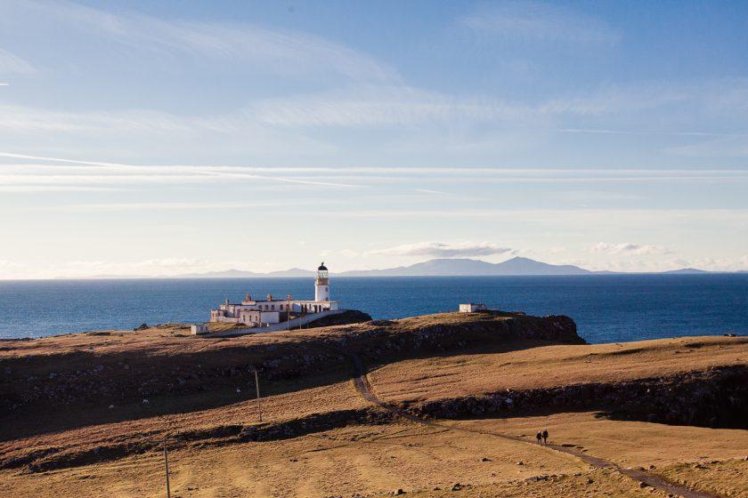Neist Point lighthouse on the Isle of Skye