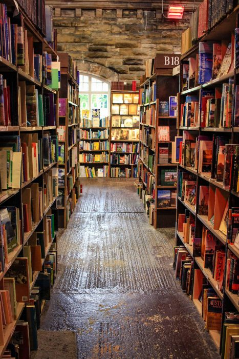 Barter Books in Alnwick is a great stop on the Holy Island day tour from Edinburgh!