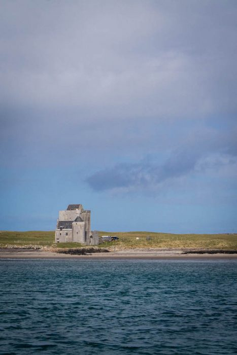 Old Breachacha Castle on the Isle of Coll