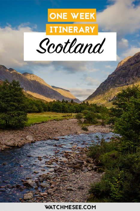 The Best of Scotland in One Week (A complete 7-Day Itinerary)