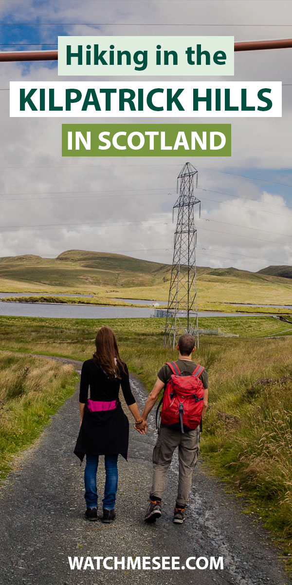 Need a scenic escape from the city with your family? Plan a day hike near Glasgow with this hiking guide to the Kilpatrick Hills!