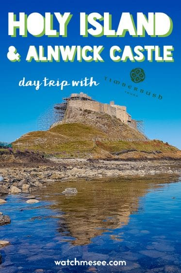 Fancy a quick day trip to the castles of northern England? This day tour to Holy Island and Alnwick Castle from Edinburgh with Timberbush Tours is the perfect choice!