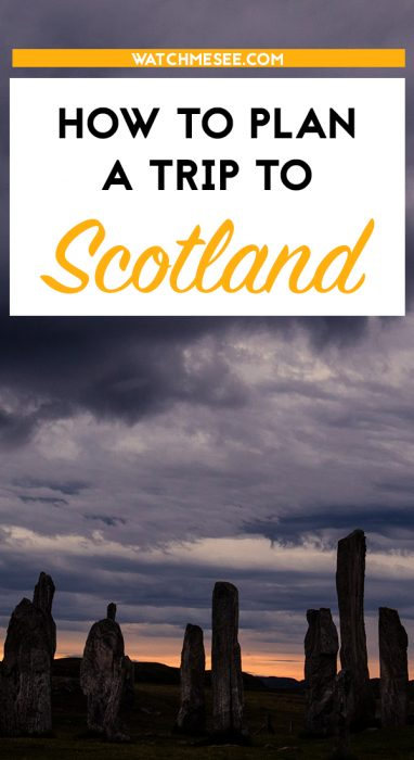 Scotland might be a small country, but organising your trip can be overwhelming! This post tells you everything you need to know to plan a trip to Scotland!