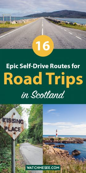 From famous routes through the Highlands to lesser-known hidden gems from coast to coast - read on for 16 epic ideas for scenic road trips in Scotland.