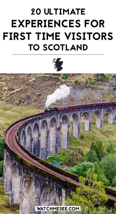 Travelling to Scotland for the First Time: 20 Must Have