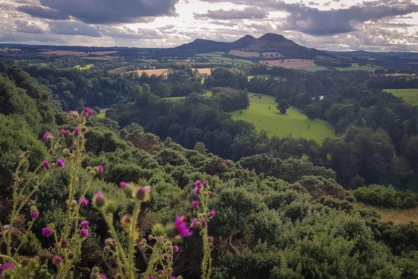 Scott's View in the Scottish Borders.