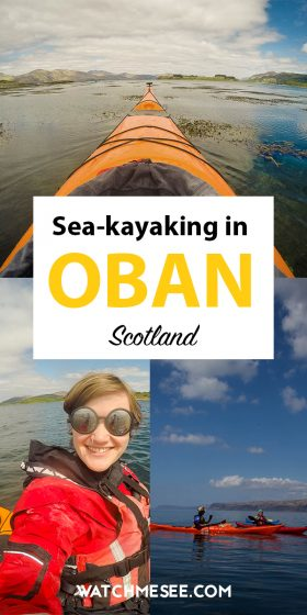 Take a course to learn all the essentials about sea kayaking in Oban - a unique way to see Scotland from a different perspective AND have a fun day out!
