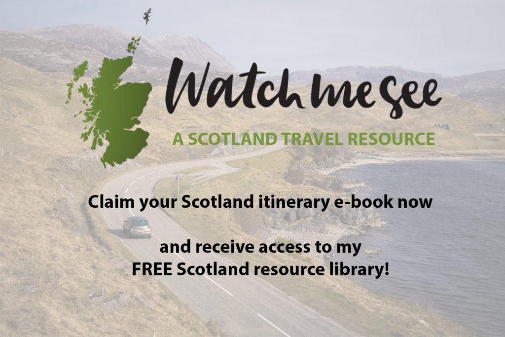 Sign up image - Scotland e-book lead magnet