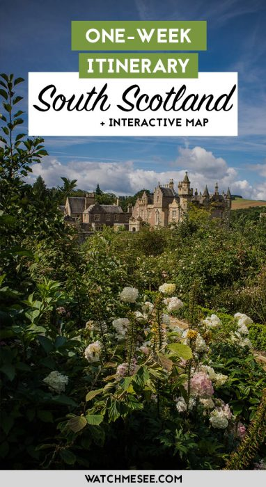 Scotland is more than the Highlands - this itinerary for South Scotland shows you the best places to visit in the Scottish Borders, Dumfries & Galloway!