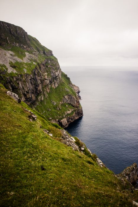 Cliffs on St Kilda