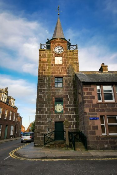 The Stonehaven Clock Tower
