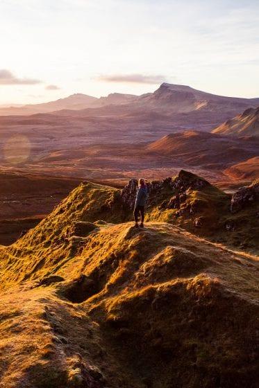 Sunrise on the Isle of Skye