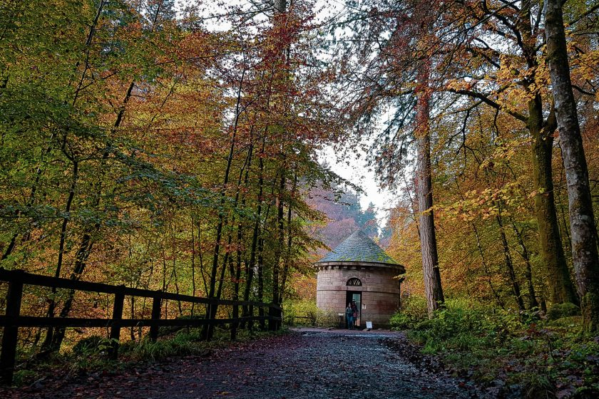 The Hermitage in Scotland