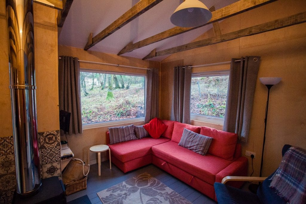 House in the Wood: Self-Catering Accommodation near Glen Coe | Watch Me See | Stay at House in the Wood, a self-catering accommodation near Glen Coe in the heart of the Scottish Highlands. Your cabin lies in the hamlet of Glenachulish. Only 10 minutes from Glen Coe and half an hour from Fort William it is the perfect place to base yourself when exploring the Scottish Highlands by car or foot!