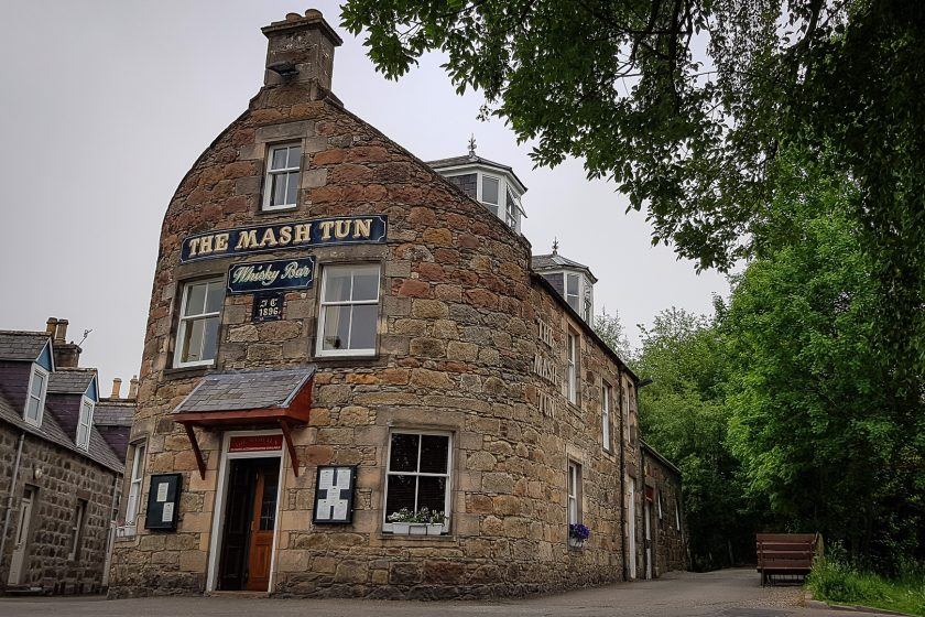The Mash Tun pub in Aberlour, Scotland