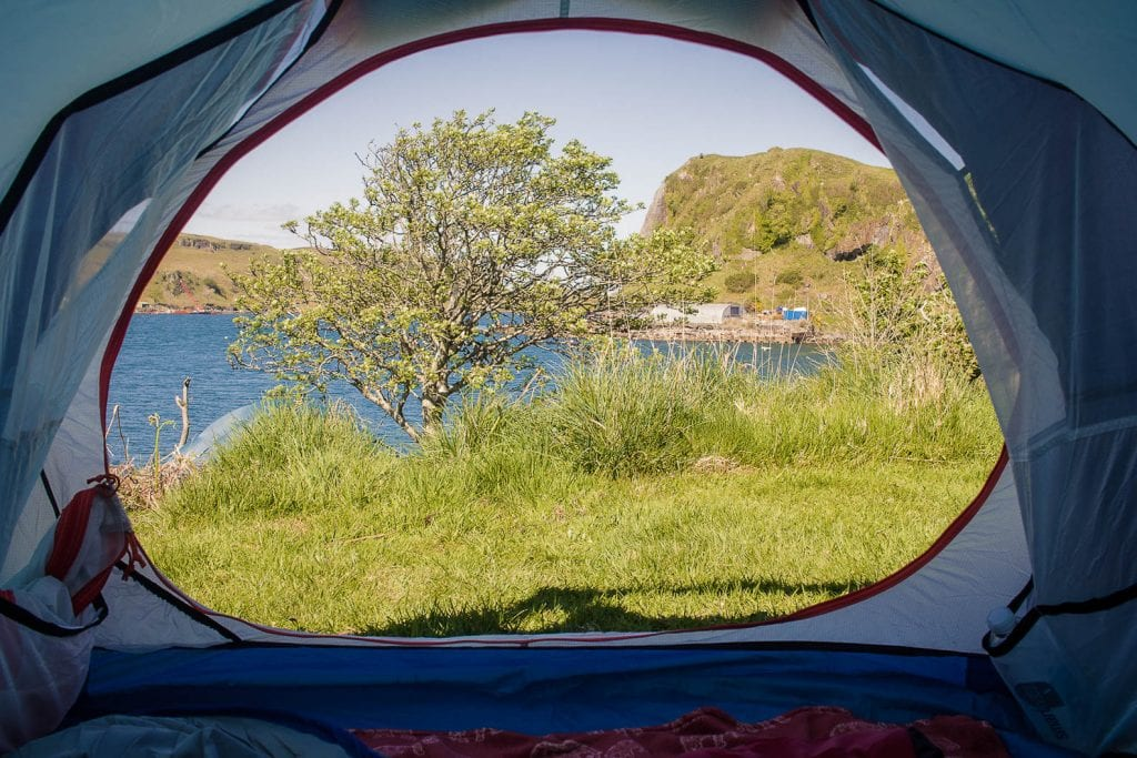 Camping in Oban