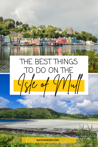 Island hopping, puffin watching, castles and pretty seaside towns - this list of things to do on Mull is pure Scotland bucket list material!