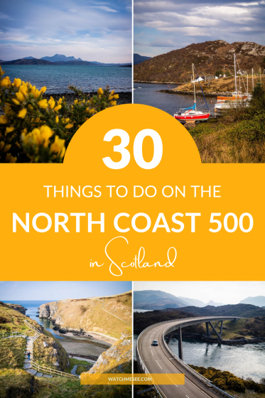 Check out these 30 EPIC things to do on the North Coast 500 and us this travel guide to plan your own NC500 adventure road trip in Scotland.