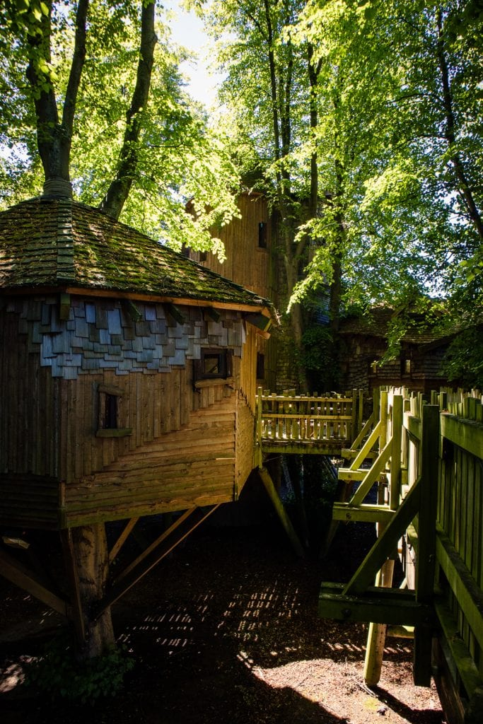 The Treehouse Restaurant in Alnwick.