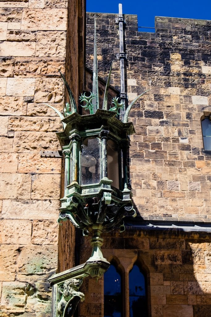 Details at Alnwick Castle in Northumberland