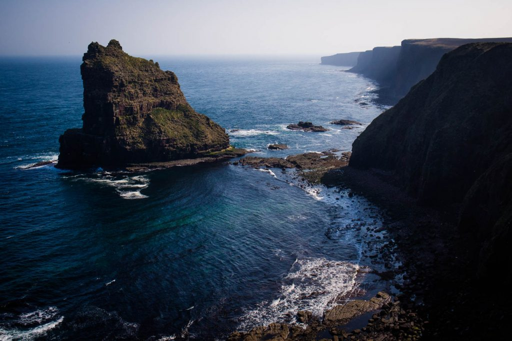 Duncansby Sea Stacks on the North Coast 500 in Scotland