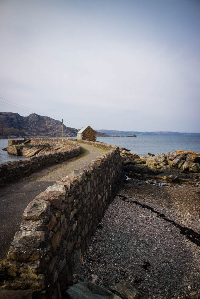 The harbour in Lower Diabaig