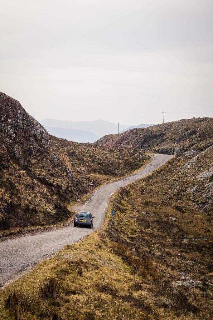 North Coast 500 road from Torridon to Diabaig