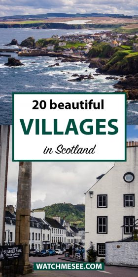 What are the most beautiful towns in Scotland? From the colourful harbour towns to romantic Highland villages - here are 20 places for your itinerary!