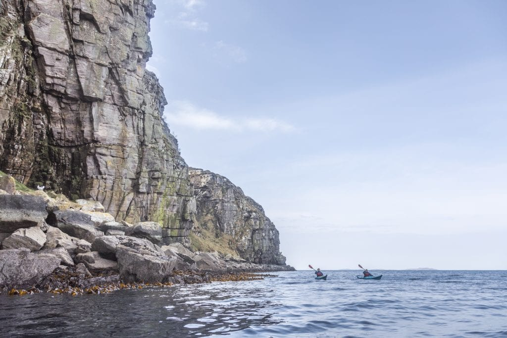 Kayaking near Ullapool with Kayak Summer Isles