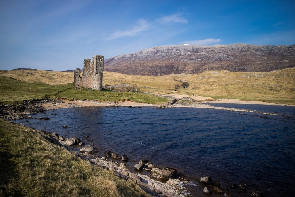 North Coast 500: Ardvreck Castle