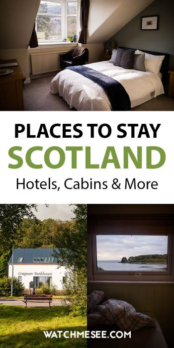 Find unique places to stay in Scotland: from small hotels & B&Bs to unique hostels & self-catering cottages. Hand-picked suggestions for your itinerary!