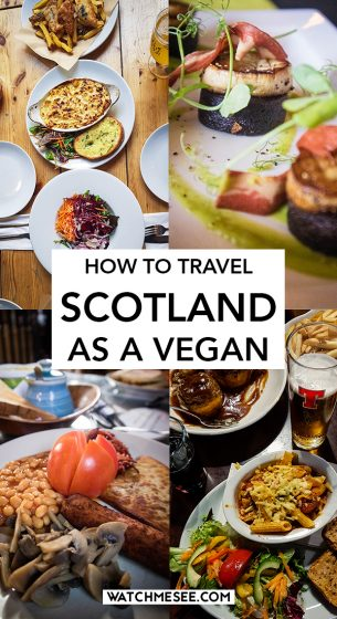 What is it like to travel as a vegan in Scotland? From eating out to finding a place to stay - this vegan Scotland guide answers all your questions!