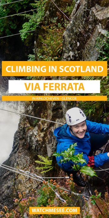 Attention thrill-seekers! Climb the only Via Ferrata in Scotland. Click to find out how to book this activity & what soaring heights to expect.