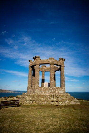 War Memorial in Stonehaven Aberdeenshire Scotland