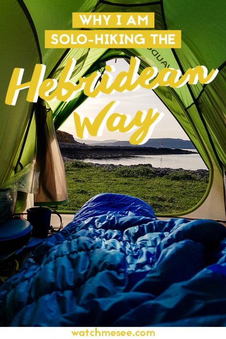 My top 10 reasons for walking the Hebridean Way on my own and raising money for the Marine Conservation Society along the way.