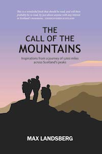 book cover of the call of the mountains by max landsberg