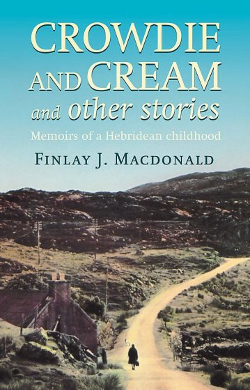 book cover of cream & crowdie by finlay macdonald