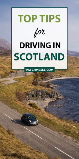 Overcome all your worries about driving in Scotland with these 20 driving tips. There is nothing to fear on Scottish roads!