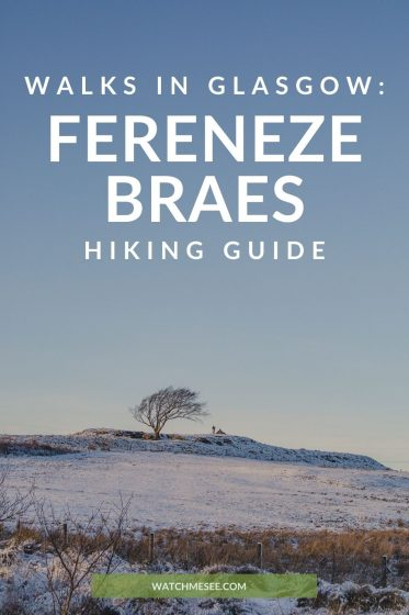 Put on your walking boots! The Fereneze Braes in Barrhead are a hidden gem in East Renfrewshire and make for a wonderful hike near Glasgow.