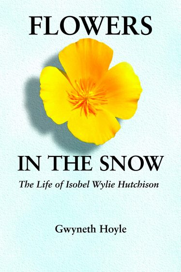 book cover of flowers in the snow by gwyneth hoyle