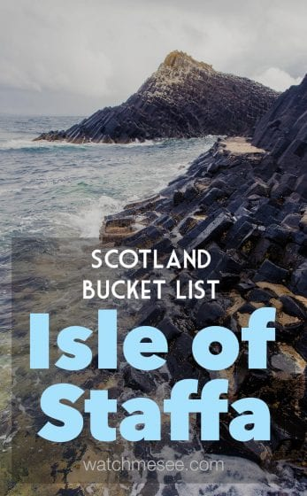 An tour to see puffins in Scotland and the Isle of Staffa had always been on my bucket list. The Staffa & Treshnish Isles Wildlife tour was perfect for me!