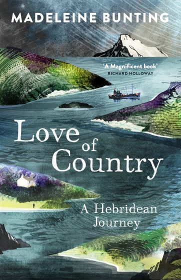 book cover of love of country by madeleine bunting