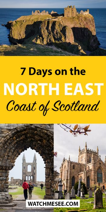 Go off the beaten track with this itinerary for North East Scotland incl. the best places to visit in Aberdeenshire and Fife and useful travel tips.