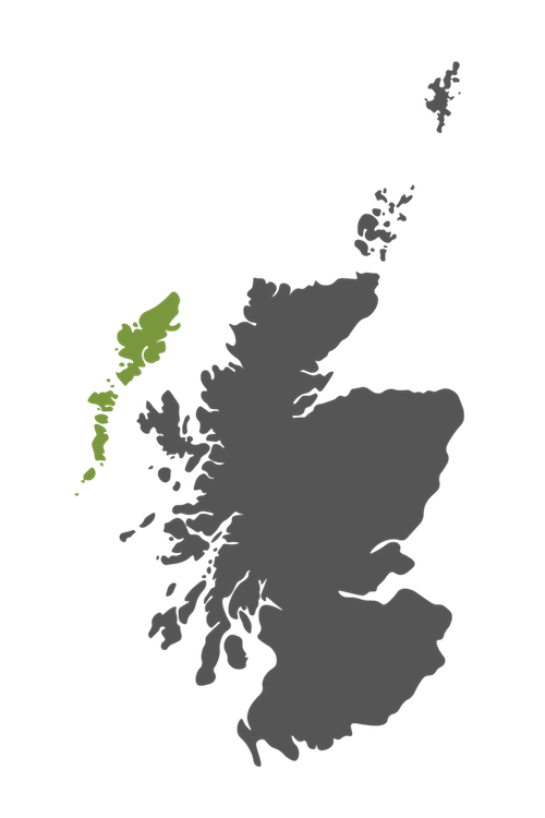 outer hebrides map scotland