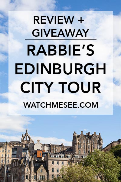 Read what I thought about Rabbie's brand-new Edinburgh City Tour and WIN two tickets to try it yourself!